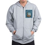 Norwalk Blvd Drive-In Theatre Zip Hoodie