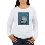 Norwalk Blvd Drive-In Theatre Women's Long Sleeve