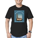 Norwalk Blvd Drive-In Theatre Men's Fitted T-Shirt