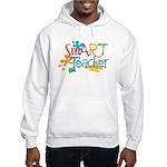 SmART Art Teacher Hooded Sweatshirt