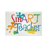 SmART Art Teacher Rectangle Magnet
