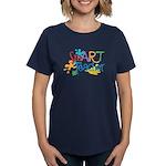 SmART Art Teacher Women's Dark T-Shirt
