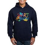 SmART Art Teacher Hoodie (dark)