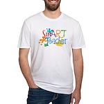 SmART Art Teacher Fitted T-Shirt
