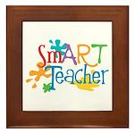 SmART Art Teacher Framed Tile