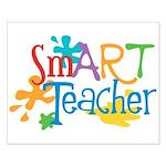 SmART Art Teacher Small Poster