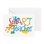 SmART Art Teacher Greeting Card
