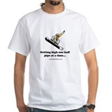 Shirt: Getting high half pipe