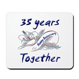 Thirty fifth anniversary Mousepad
