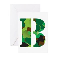 The Letter 'B' Greeting Cards (Pk of 20)