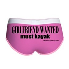 Girlfriend Wanted: Must Kayak Women's Boy Brief
