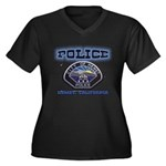 Hemet California Police Women's Plus Size V-Neck D