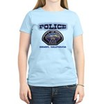 Hemet California Police Women's Light T-Shirt