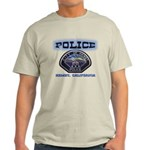 Hemet California Police Light T-Shirt