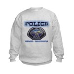 Hemet California Police Kids Sweatshirt