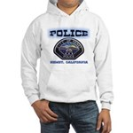 Hemet California Police Hooded Sweatshirt