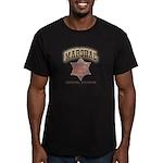 Jerome Arizona Marshal Men's Fitted T-Shirt (dark)
