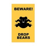 Drop Bears! Decal