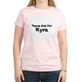 Thank God For Kyra Women's Pink T-Shirt