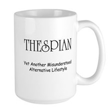 Misunderstood Thespian Coffee Mug