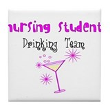 More Student Nurse Tile Coaster