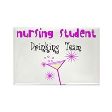 More Student Nurse Rectangle Magnet