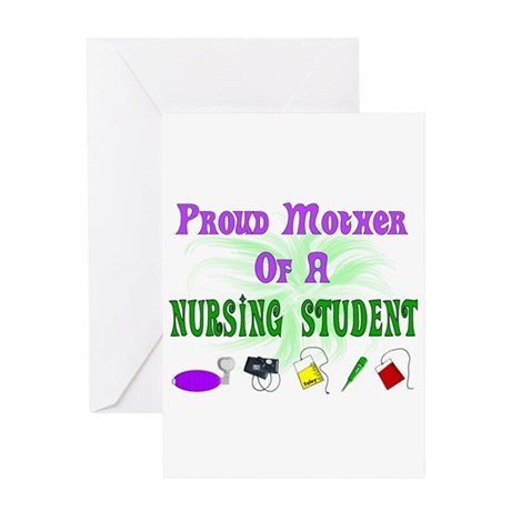 More Student Nurse Greeting Card