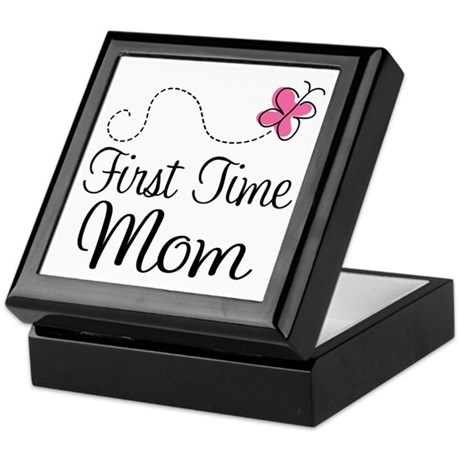 Fun 1st Time Mom Keepsake Box