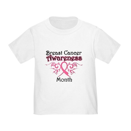Breast Cancer Awareness Month Toddler T-Shi
