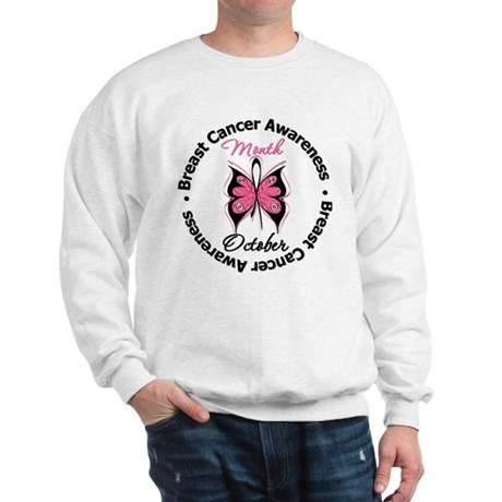 Butterfly Breast Cancer Sweatshirt