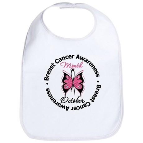 Butterfly Breast Cancer Bib