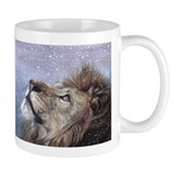 Winter Lion Coffee Mug