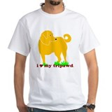 Golden Tripawd Love Shirt