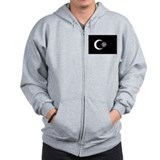 Moorish Empire Flag Zip Hoodie