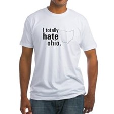 """I totally hate Ohio"" tee"
