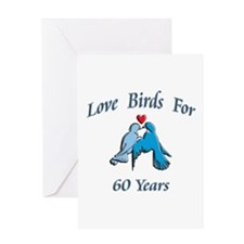 love birds 60 Greeting Cards
