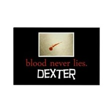 Blood Never Lies Rectangle Magnet