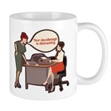 Joan Holloway Decolletage Small Mug