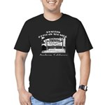 Anaheim Drive-In Theatre Men's Fitted T-Shirt (dar