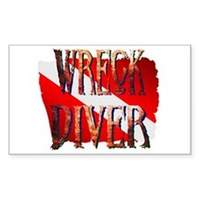 WRECK DIVER Decal