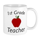 First Grade Teacher Small Mug