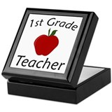 First Grade Teacher Keepsake Box