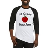 First Grade Teacher Baseball Jersey