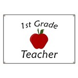 First Grade Teacher Banner