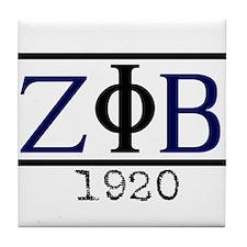 Z PHI B 1920 Tile Coaster