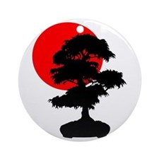 Rising Sun Ornament (Round)