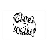 RIVER WALKER Postcards (Package of 8)