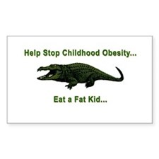 CHILDHOOD OBESITY Decal