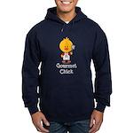 Gourmet Chick Hoodie (dark)
