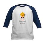 Gourmet Chick Kids Baseball Jersey